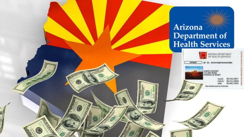 5.5 Million Dollars in 6 months! Where is your AZDHS MMJ Card Money Going?